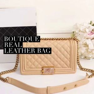 Luxury Boutique Leather Bag